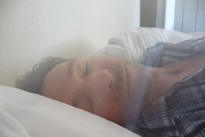 Yes, it's a picture of me sleeping. Sleep helps us stay health and youthful, ya know?